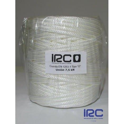 """Cuerda de Unión """"O"""" UNE EN 1263-1 7,5 Kn 100mts"""
