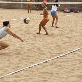 Cinta Delimitadora De Campos Volley Playa - Blanca