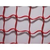 Plastico Trenzado Rojo Super Tenacidad 2.5 mm M:150 Cuad 500Ma x 99.5Mts
