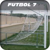 redes para porteria futbol 7