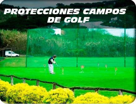 protecciones campos de golf acceso