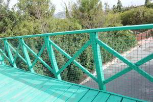 redes para balizamiento en parques